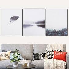 Meigar Forest Canvas <b>Wall</b> Art <b>Modern Nordic Minimalist</b> Poster ...