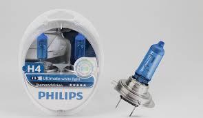 Обзор <b>ламп Philips Diamond</b> Vision H4 12362DVS2