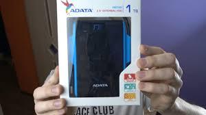 Что такое внешний <b>жесткий диск ADATA</b> HD720? - YouTube