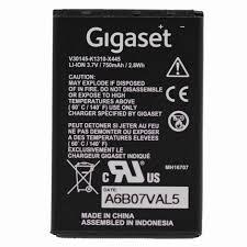 <b>Original Battery</b> for Gigaset SL400H / SL78H / SL450H