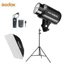 <b>Godox E300</b> 300Ws Photography Studio Flash Strobe Light + 50 x ...