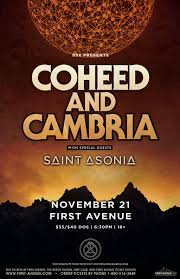 <b>COHEED AND CAMBRIA</b> — CANCELED | First Avenue