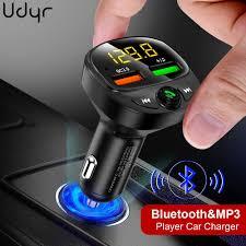 <b>Udyr</b> FM Transmitter Modulator <b>Bluetooth</b> Handsfree Car Kit Audio ...