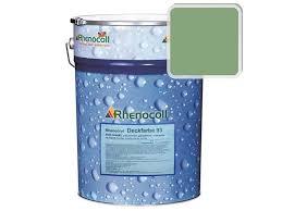 <b>Краска фасадная Rhenocryl Deckfarbe</b> 93A RAL 6021 шелковисто ...