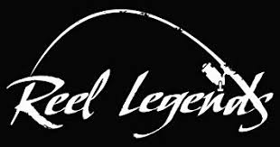 Reel <b>Legends</b> Large Bent Rod <b>Decal</b> Lg White: Amazon.co.uk: Car ...