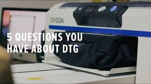 DTG (Direct To Garment) <b>Printing</b> - 5 Things You Should Know ...