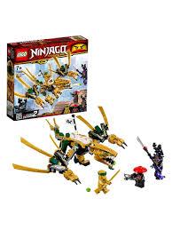 <b>Конструктор LEGO NINJAGO</b> 70666 <b>Золотой</b> Дракон LEGO ...