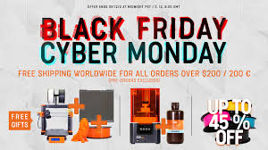 <b>Black</b> Friday: <b>free shipping</b> worldwide, free gifts with MK3S and SL1 ...