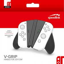 <b>Крепление Speedlink</b> V-Grip для <b>контроллера</b> Joy-Con NS