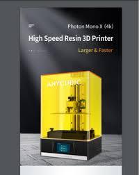 <b>3D Printer</b> - <b>Anycubic</b> Photon Mono X 4k Monochrome Resin Printer ...