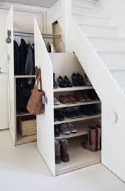 kitchen solution traditional closet: storage storage solutions cupboard stairs stairs loss of squares entrance hall diy do it diy coat rack a staircase the space utilization