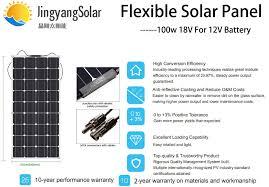 <b>solar panel</b> 300w 200w <b>100w</b> 400w <b>18V</b> 24V flexible <b>solar panel</b> For ...