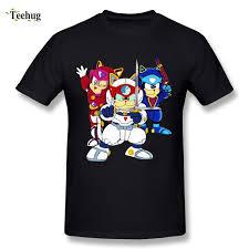 <b>Funny Game Round Collar</b> Man Samurai Pizza Cats T Shirt Retro ...