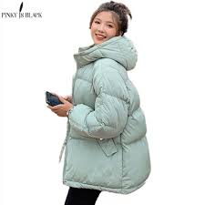 <b>PinkyIsBlack 2020</b> Hooded <b>Women</b> Winter Down Jacket Coat Plus ...