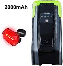 4000Mah <b>Induction Bicycle Front</b> Light Set Usb Rechargeable <b>Smart</b> ...