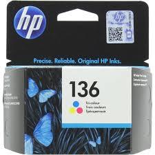 Оригинальный <b>картридж</b> HP C9361HE (<b>№136</b>) (трехцветный ...