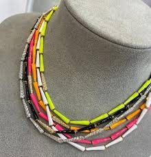 Special Offers necklace pink <b>black yellow</b> list and get free shipping ...
