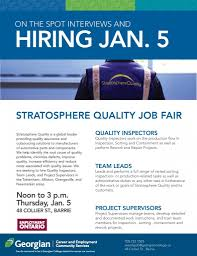 stratosphere job fair n college 1