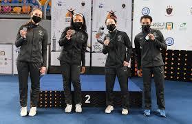 U.S. <b>Women's Saber</b> Team Earns Silver at Junior Worlds