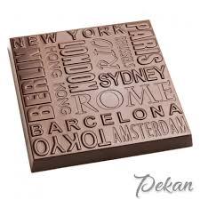 Форма поликарбонатная для <b>шоколада</b> Города CW1864 ...