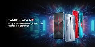 RedMagic (<b>Global</b>) - RedMagic 5S Gaming Mobile Phone