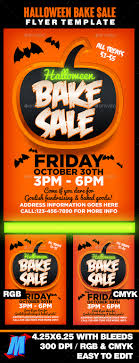halloween bake flyer template by megakidgfx graphicriver halloween bake flyer template events flyers