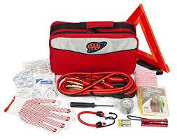 Amazon.com: AAA Approved <b>Roadside</b> Kit, <b>Emergency</b> Traveler Kit ...