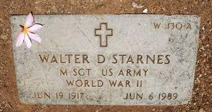 walter douglas starnes 1917 1989 a grave memorial walter douglas starnes
