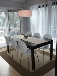table chairs black extendable dining carpet