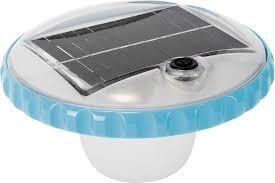 Плавающая <b>подсветка на солнечной батарее</b> INTEX 28695 ...