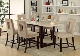 Marble Top Kitchen Table Set Dining Room Sets With Faux Marble Top Best Dining Room