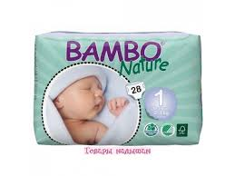 <b>Подгузники Bambo Nature</b> Newborn 2-4 кг 28 шт | Детский ...
