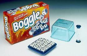 Boggle, word games