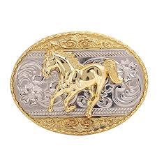 Buy HUABOLA CALYN Running Horse <b>Belt Buckle</b>, <b>Western</b> ...