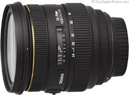 <b>Sigma 24</b>-<b>70mm f/2.8</b> EX <b>DG</b> Lens Review