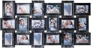 "<b>Фоторамка</b> ""Platinum"", цвет: черный, серебристый, на 18 <b>фото</b> ..."