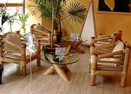 terrace furniture ideas bamboo furniture set for terrace bamboo furniture