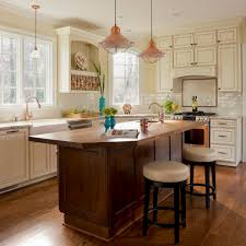 williamsburg mid sized elegant l shaped kitchen photo in dc metro with a farmhouse sink raised copper light fixtures awesome farmhouse lighting fixtures furniture
