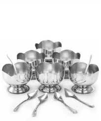 HUMBLE KART <b>ICe Cream</b> Cup Steel Bowl Set <b>Stainless Steel</b> ...