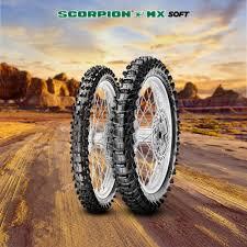 <b>Pirelli Scorpion MX Soft</b> 410 Range - Link International