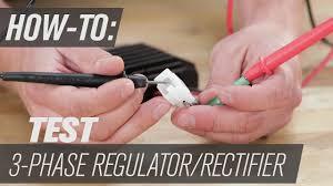 How To Test a 3 Phase <b>Regulator</b>/<b>Rectifier</b> - YouTube