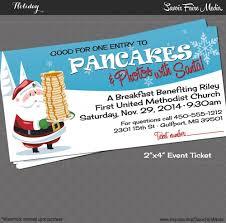pancake breakfast santa event ticket holiday photos 128270zoom
