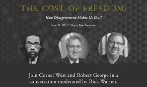 the cost of dom robert george and cornel west the cost of dom robert george cornel west and rick warren