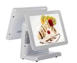 China <b>Supermarket 15</b> Inch <b>POS</b> Machine Electronic Cash Register ...