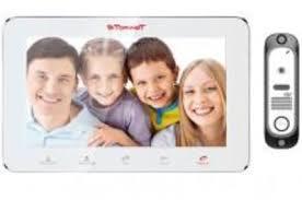 <b>Комплект</b> цветного видеодомофона <b>TOR</b>-<b>NET TR</b>-<b>29M</b> W/414Si