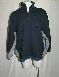 <b>VETEMENTS</b> 2018-19AW Blue Gray <b>Long Sleeve</b> Cotton <b>Sweatshirt</b> ...