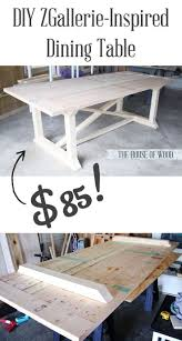 dining table woodworkers: what an awesome table and plans don seem that difficult wish i had room