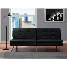 futon home kitchen furniture bedroom futons chelsea black futon   da ca aff