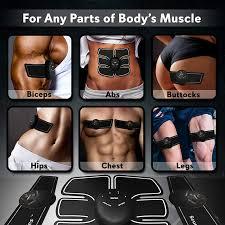 <b>EMS Wireless Muscle Stimulator</b> Smart Fitness Abdominal Training ...
