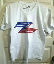 Adidas с коротким рукавом белая винтажная <b>футболки</b> для мужчин